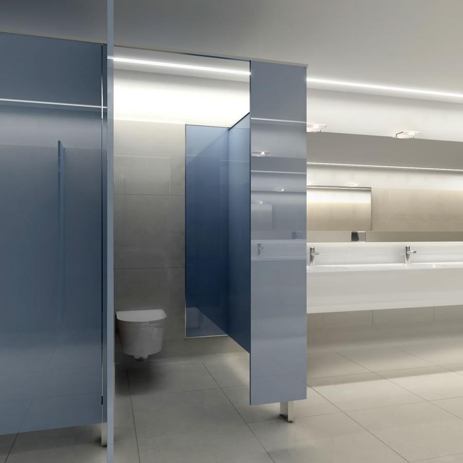 Beretta Associati Linate bagno blu 8