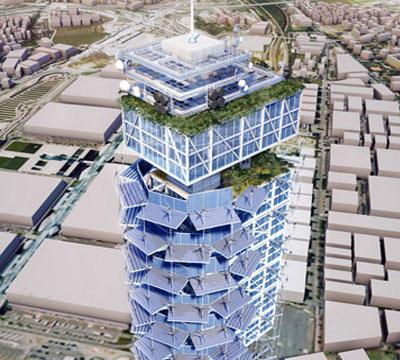 Beretta Associati Energy Tower cover