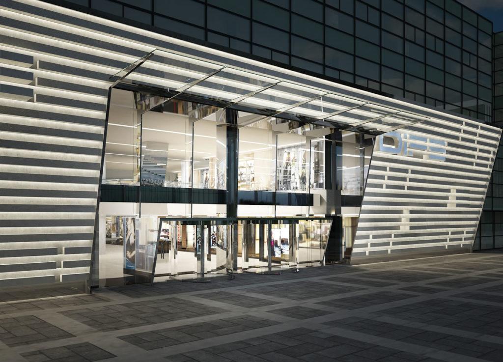 Beretta Associati Dife Mall 1