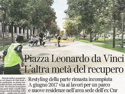 Piazza Leonardo Da Vinci cover