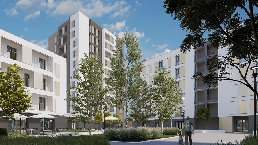 Beretta Associati Social Housing Merezzate 2