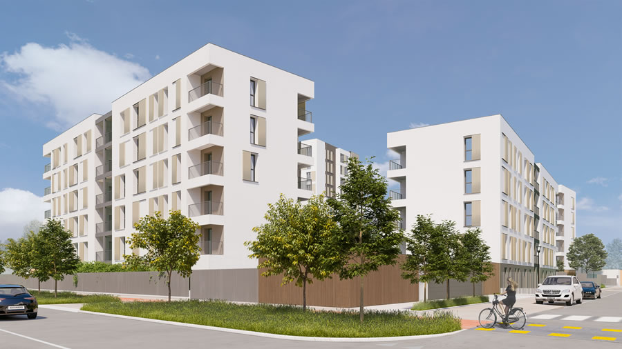 Beretta Associati Social Housing Merezzate 4